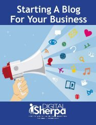 Starting A Blog For Your Business - DigitalSherpa