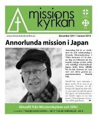 TidningenMissionskyrkan_2011-10 - Missionskyrkan Tibro