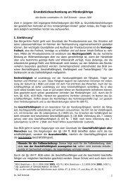 Grundstücksschenkung an Minderjährige - juraplus.de