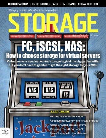 FC, iSCSI, NAS - Bitpipe