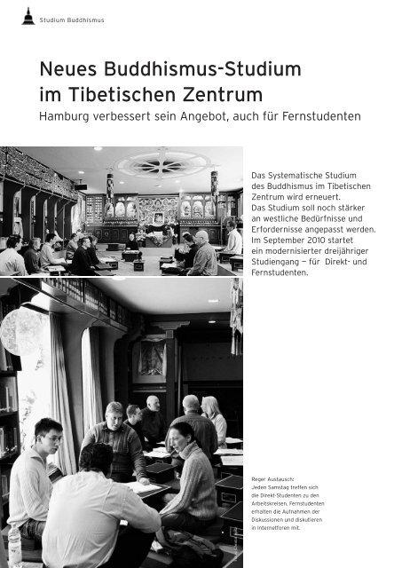 Neues Buddhismus-Studium im Tibetischen Zentrum