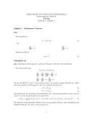 Angewandte intertemporale Optimierung I