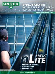 watergeleidende steeltech- nologie voor professionals - Unger