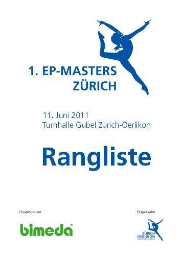 EP Master 2011 - KUTU - Obersiggenthal