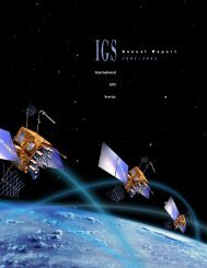 2001-02 Annual Report (4.1MB PDF) - IGS - NASA