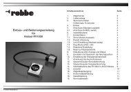 Einbau- und Bedienungsanleitung für Kreisel ... - MHM-Modellbau