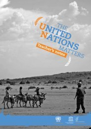 The UN - UK National Commission for UNESCO