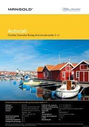 autocall combo svenska bolag ackumulerande 2 + - NGM