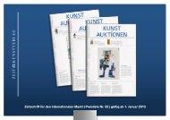 Mediadaten KUNST UND AUKTIONEN 2013 - Zeit Kunstverlag