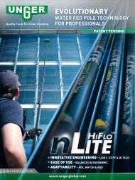 Water Fed Pole technology For ProFessionals - Unger