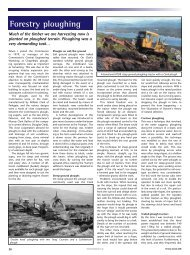 Forestry ploughing - Forestry Journal