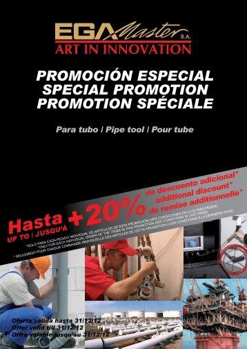 PROMOCIÓN ESPECIAL SPECIAL PROMOTION ... - Acoeste, SA