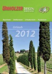 Kurzreisen - Städtereisen - Urlaubsreisen ... - Unholzer-Reisen