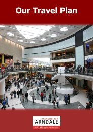 Our Travel Plan - Manchester Arndale