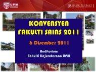 Timbalan Dekan (Akademik & Hal Ehwal Pelajar) - UPM