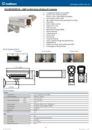 GV-BX520D-E 5MP H.264 Arctic IR Box IP Camera - DWG
