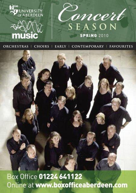 music spring 2010 - University of Aberdeen