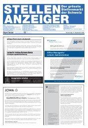 Der grösste Stellenmarkt der Schweiz