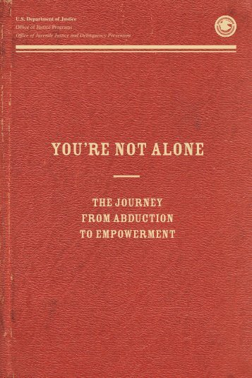 You're Not Alone: The Journey from Abduction to Empowerment