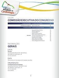 Informações Gerais - 66 Congresso Brasileiro de Cardiologia
