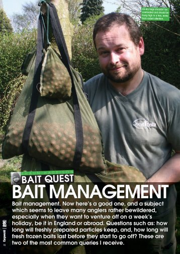 Bait Management - Quest Baits