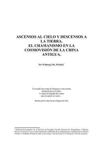 ASCENSOS AL CIELO Y DESCENSOS A LA TIERRA. EL ...