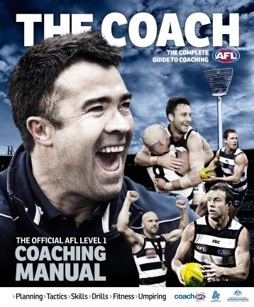 ROlE Of THE COACH - AFL Community