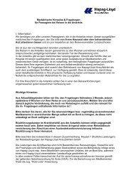 I. Information - Karawane Reisen