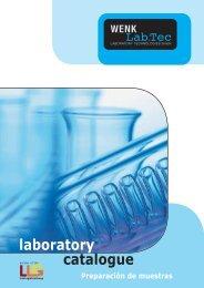 Preparación de muestras - Wenk Lab Tec