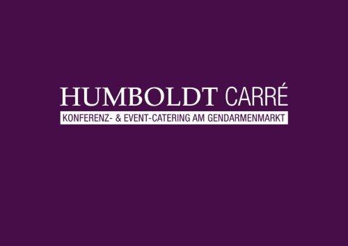 Catering Konferenzbereich B - Humboldt Carré