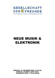 Programm - Institut für Elektronische Musik und Akustik