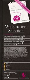 Winemaster's Selection February 2009 - White - The Wine Society