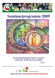 Seminarhandbuch 2009 - Schützen im Bezirksverband Kleve
