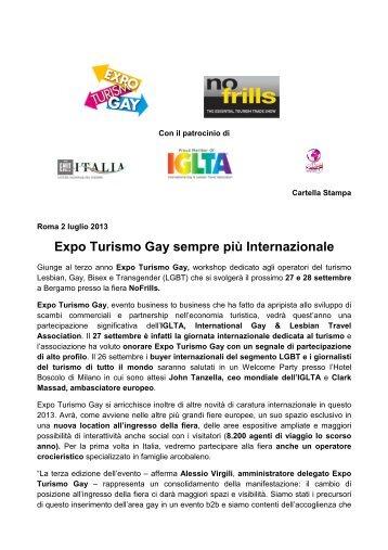 Expo Turismo Gay sempre più Internazionale - GuidaViaggi