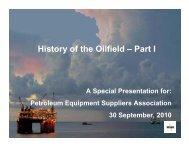 Download presentation - Petroleum Equipment Suppliers Association