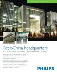 CS SUSTAINABILITY PetroChina.pdf - Philips Lighting Controls