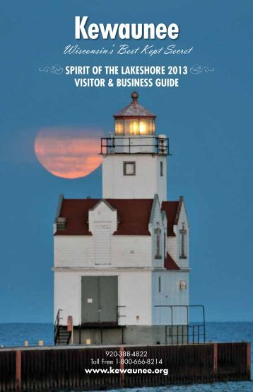 2013 Business & Visitors Guide - Kewaunee Chamber of Commerce