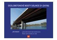 OCELOBETONOVÉ MOSTY DÁLNICE D1 (D4708) - IVD