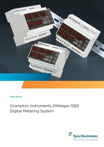 Crompton Instruments DINtegra 1260 Digital Metering System