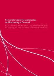 Corporate Social Responsibility and Reporting in ... - Samfundsansvar