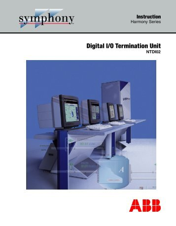 Digital I/O Termination Unit (NTDI02)