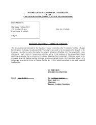 12-0043 Macatawa Trading, LLC - CBOE.com