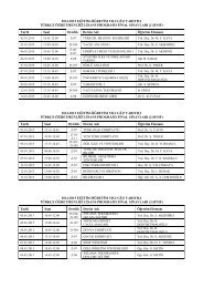 Final Programı - Ege Üniversitesi - Eğitim