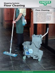 Floor Cleaning - Unger