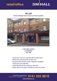 retail/office 0141 332 8615 - DM Hall