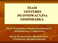 Team & Ventures
