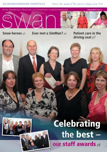 5. The Swan newsletter April 2010 - Become an NHS Foundation ...