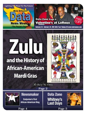 Zulu and the History of African-American Mardi Gras