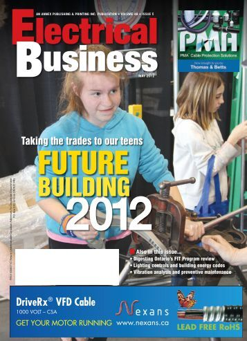 Future Building 2012 - Electrical Business Magazine