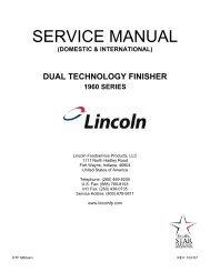 DTF - 1960 Series Service Manual - Domestic & Int'l